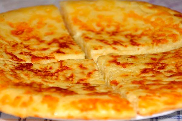 Экспресс-хачапури к завтраку на сковороде