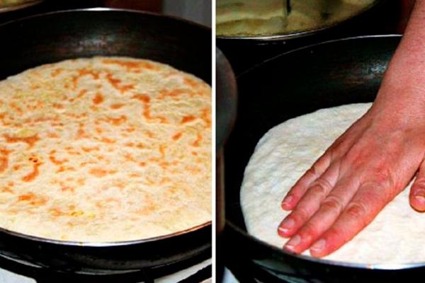 Хачапури на кефире: очень вкусно и быстро