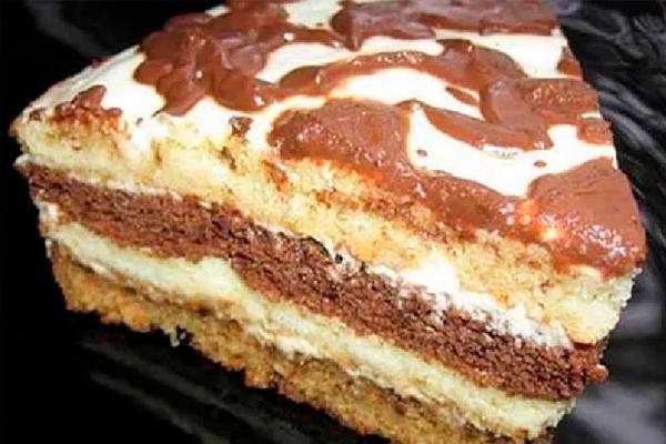 Сметанный домашний торт из маминой тетрадки