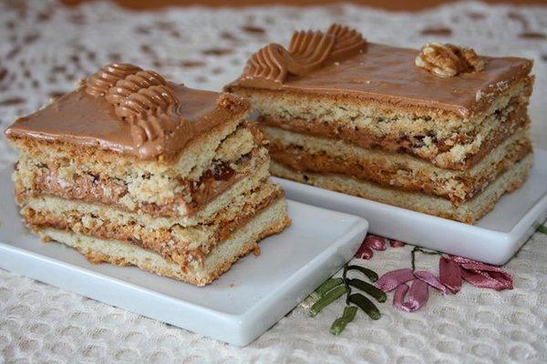 Торт «Рахат»