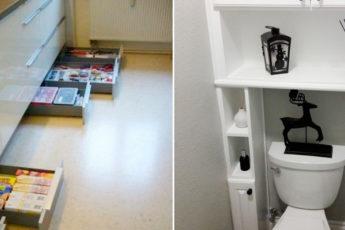 Несколько дельных советов по организации пространства в маленькой квартире. Вы будете использовать каждый сантиметр пространства