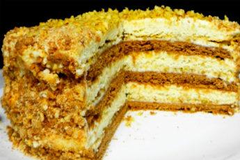 Торт «Мишка на севере»: вкус нашего детства