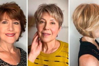 Модные короткие стрижки 2021: 5 стильных вариантов для женщин за 40