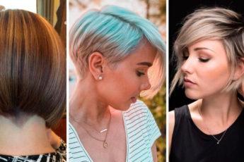 Короткие стрижки: 10 лучших коротких причесок для тонких волос