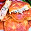 Оладьи с мясной начинкой или ленивые беляши без заморочек