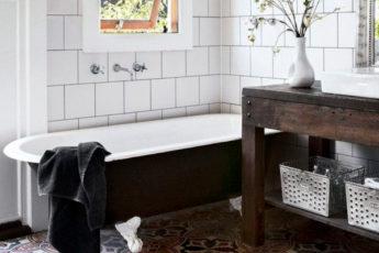 Как обновить ванную комнату без ремонта