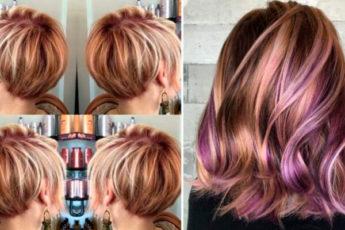 Модное окрашивание волос, на любую длину