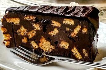 Шоколадный торт без выпечки. Любимый торт Английской королевы