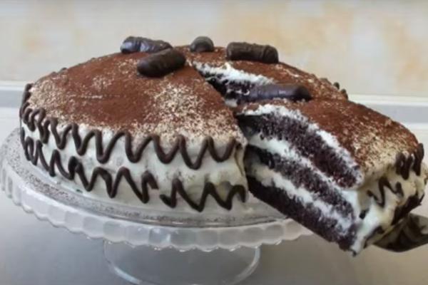 Шоколадный торт Капучино