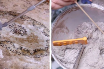 Сухая и щадящая чистка ковра, которая уберёт всю пыль и грязь