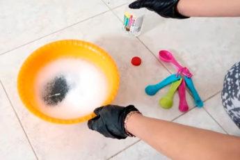 Идеально чистые швы на плитке — это просто. Чистящая смесь, сделанная за копейки