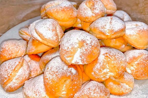 Вкусное печенье из детства: выпечка из творога