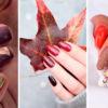 Осеннее вдохновение: идеи маникюра в теплых оттенках