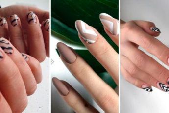 Абстракция – дизайн ногтей
