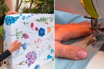 Простынь на резинке: 2 легких способа пошива под нужный размер. Отдельные детали сострачивать не придется
