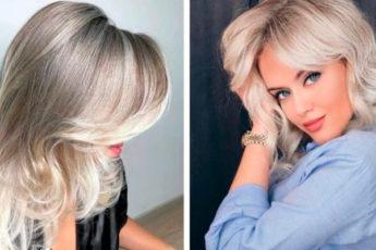 Стрижки на светлые волосы: 50 различных способов укладки