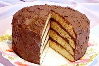 Очень вкусный торт на майонезном тесте