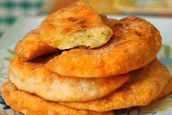 Быстрые пирожки с картошкой, как беляши