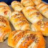 Пышные пирожки с сочной начинкой из куриного филе